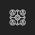 Integration on demand icon
